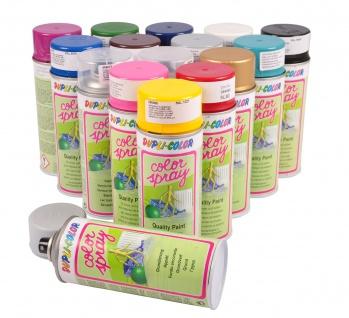 Dupli-Color Farbspray 400ml versch. RAL matt glänzend Farbe Klarlack Grundierung