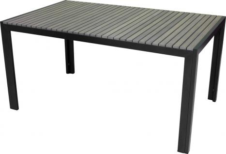 Consul Garden ALU-TISCH Aluminium Tisch 55522 150x90cm Eisengrau/grau 22