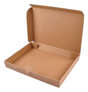 Maxibriefkarton 50 Stück 34, 5x24x4, 5cm Faltkarton Versandkarton Versandschachtel