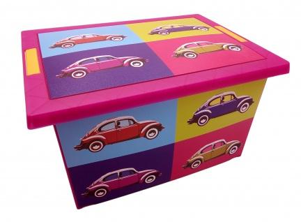 Aufbewahrungskiste Auto Spielzeugkiste Aufbewahrungsbox Allzweckbox Lagerkiste