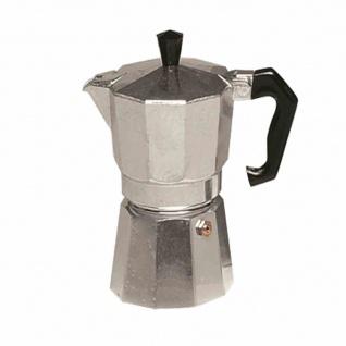 Espressokocher für 3 Tassen aus Aluminium