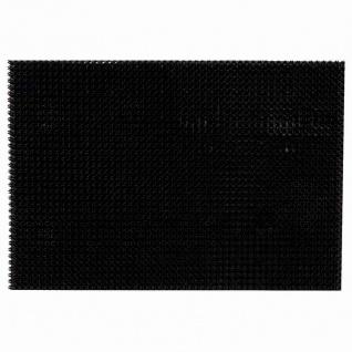 Grassmatte Tropic 40x60 schwarz Fußmatte Schmutzfangmatte Fußabtreter Matte TOP