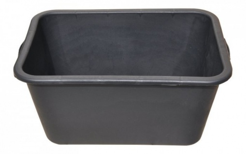 3x Mörtelkasten 65 Liter schwarz