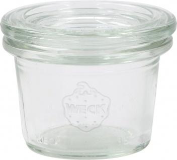 WECK Rundrandglas 756 Mini Rr-glas 35ml Sturzform