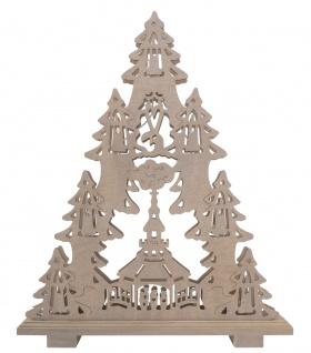 Holztanne Dekoration Holz Tanne Weihnachten Dekotanne Fenster Deko Handarbeit