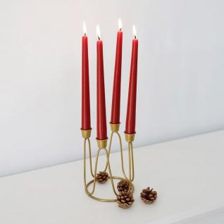 Kerzenständer gold 12x15, 5cm Kerzenhalter Kerzenleuchter Tischleuchter Tischdeko