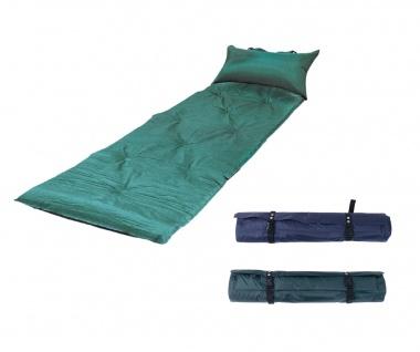 Trekkingmatte in Tragetasche selbstaufblasend Isomatte Campingmatte Matratze