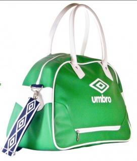 UMBRO COSMOS Sporttasche grün Schultertasche Tragetasche Reisetasche Shopper