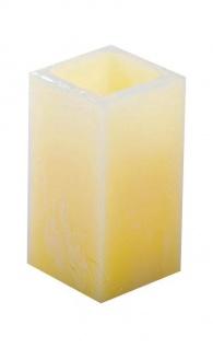 LED Kerze mit echtem Wachsüberzug