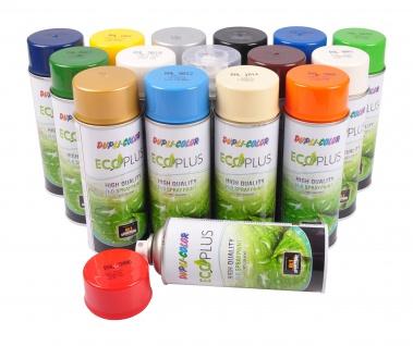 Dupli-Color ECOPLUS Lackspray auf Wasserbasis 400ml Farbspray Lack Sprühdose