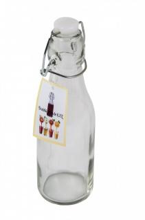 Drahtbügelflasche 0, 25 Liter Glasflasche Bügelflaschen Bügelverschluß