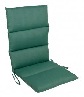 Rollstepp Hochlehner Auflage 123x50cm Polsterauflage Sesselauflage Sitzpolster