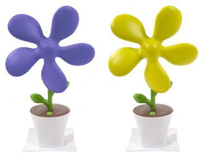 Ventilator im Blumendesign Schreibtischventilator USB-Lüfter USB-Anschluss Neu
