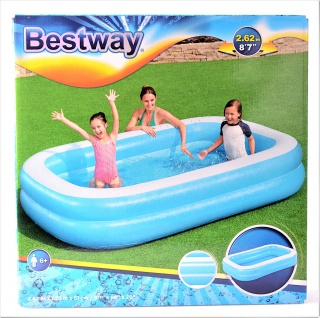 "Bestway Family Pool "" Blue"" Swimmingpool Kinderpool Schwimmbecken Planschbecken"
