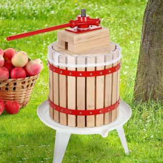 Obst- und Beerenpresse 12L Weinpresse Obstpresse Saftpresse Apfelpresse Presse