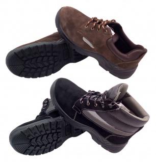 Sicherheitsschuhe Arbeitsschuhe Schutzschuhe Halbschuhe Stiefel Leder Stahlkappe - Vorschau 1