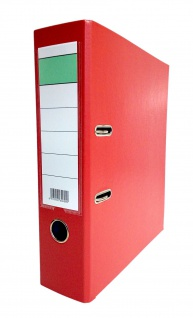 Aktenordner A4 rot Schildtasche Archivordner Dokumentenablage Ordner Stehsammler