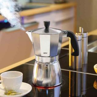 Espressokocher 6 Tassen Kaffeebereiter Kaffee Heißgetränke Mokka Kaffeekanne NEU