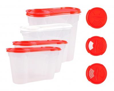 Rival Schüttdosen 1, 3-4 Liter Cerealienbox Müslidose Cornflakesdose Vorratsdose