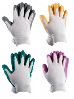 ADW Gartenhandschuhe Arbeitshandschuhe Montagehandschuhe Gr.10 Schutzhandschuhe