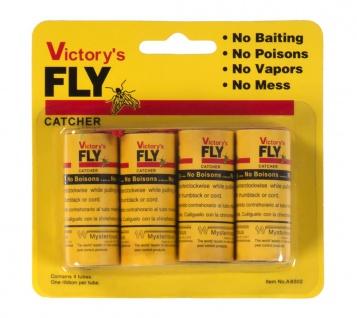 4er-Pack Fliegenfänger Fliegenfalle Leimfalle Insektenfalle Leimrolle FlyCatcher