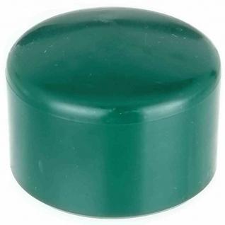 Kappen für Zaunpfähle 42 mm grün