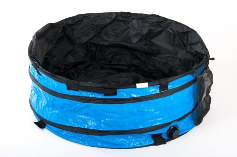 Hundepool 70x30cm Badewanne Schwimmbecken Swimmingpool Planschbecken faltbar
