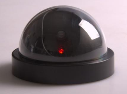 Sicherheitskamera-Attrappe mit rotem LED Dummy Fake Kamera keine Verdrahtung