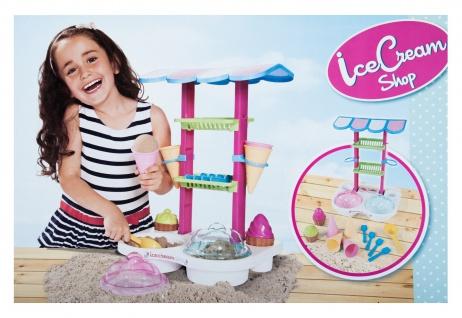 IceCream Shop Eisdiele Garten-Sand-Spielzeug Sandform Sandkasten Strandspielzeug