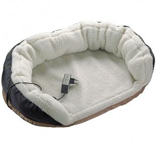 Beheizbares Haustierbett Hundebett Katzenbett Hundekissen Hundematte Schlafplatz - Vorschau 2