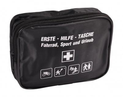 Erste-Hilfe-Tasche für Fahrrad Sport und Urlaub Verbandstasche Verbandkasten