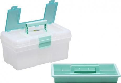 """allit MCPLUS Kunststoffkoffer ,, McPlus Clear 16"""" 416413 16 Mint"""