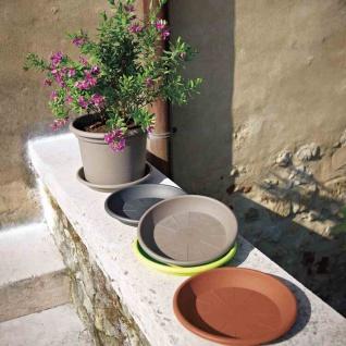 Untersetzer MEDEA 40cm für GEO sand Pflanztopf Pflanzgefäße Pflanzen Garten NEU