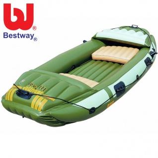 Bestway Schlauchboot Neva III Campro aufblasbar Kajak Angelboot Ruderboot Boot