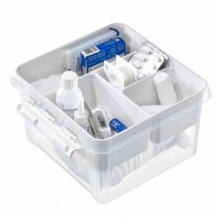 Erste Hilfe-Box 8 l weiß SmartStore Deco 12