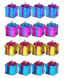 Baumschmuck Päckchen 7cm Weihnachtsbaumschmuck Christbaumschmuck Weihnachtsdeko