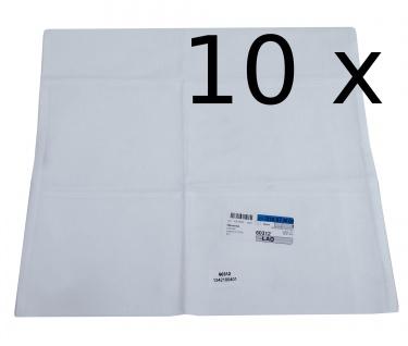 10x Kissenbezug Hotelwäsche Erwin Müller Ravenna in weiß 40x42cm