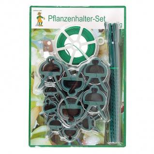Grüner Jan Pflanzenhalter Set-61-teilig Pflanzenclips