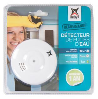 Wassermelder 85dB Bad Küche Keller Überschwemmungs-Alarm Wasserleck-Detektor