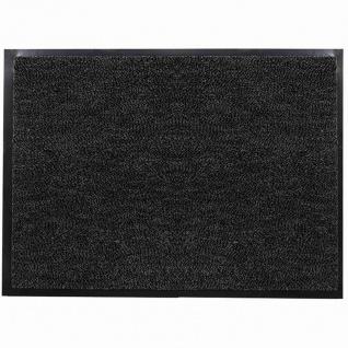 Fußmatte Mono 40x60 anthrazit Schmutzfangmatte Fußabtreter Haushalt wohnen Matte