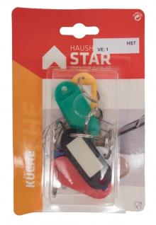 STAR Schlüsselanhänger 8251 Schluessel-anhaenger 6 St.