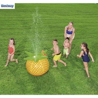 Bestway Wassersprinkler Ananas mit Wurfring Fontäne Wasserball Wasserspritze