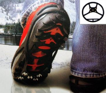 Schuhspikes Kinderschuhe Gr.S 30-35 Eiskrallen Schuhkrallen Schneeschuhe Spikes