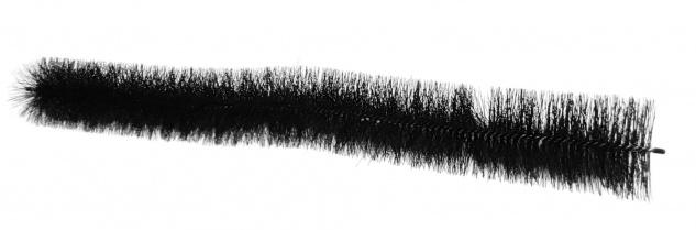 Dachrinnenbürste 100cm Ø12cm Dachrinnenraupe Laubschutz Marderschutz Rinnenraupe