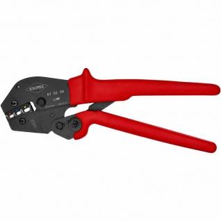 Kerbzange, mechanisch, Kabelschuhe/Verbinder, 0, 5-6mm², AWG10-20, Kerbung
