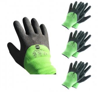 RECA Thermo Plus Arbeitshandschuhe 3x Gr.9 Winterhandschuhe Schutzhandschuhe