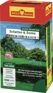 Wolf WOLF Garten Schatten & Sonne PREMIUM-RASEN 3820020 Rasensamen Supra Lp25