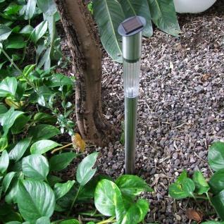 Solar-LED-Gartenlampe 57cm Solarlampe Solarleuchte Gartenleuchte Gartenstrahler - Vorschau 3