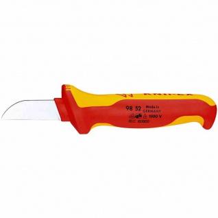 Kabelmesser, 50mm, gerade, Kunststoff, Schutzisoliert 1000V, VDE geprüft