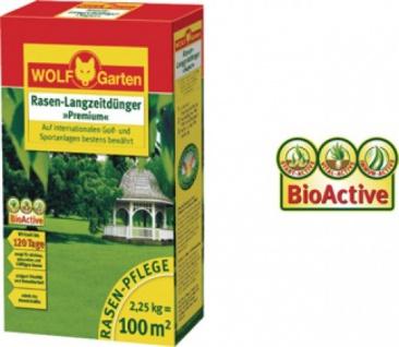 "Wolf WOLF Garten Rasen-Langzeitdünger ,, Premium"" 3830030 Rasana Super Duenger Le250"